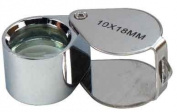 10x18mm Chrome Doublet Jewellers Loupe