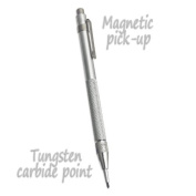 Tungsten Carbide Scriber Engraver Pen - Magnetic Pick-Up Cap