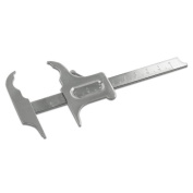 Stainless Steel 100mm Boley Dental Gauge Vernier Calliper