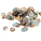 Lot 100 Mother of Pearl Round Shell Sewing Buttons 15mm HOT