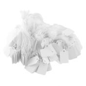 1 Bag Paper Label Tie String Price Tag Tags Display 2.6cm x 1.5cm