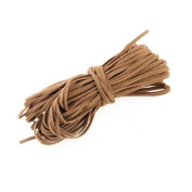 18m Long Brown Faux Suede Leather Beading Trim Thread Lace Cord 2mm