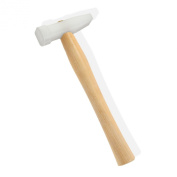 120ml Nylon Poly Chasing Mallet Hammer Square & Anvil Head Turned Ash Handle - Great for Jewellery Making