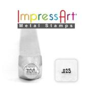 ImpressArt- 1.5mm, .925, Design Stamp