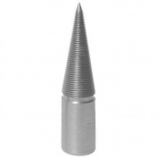Tapered Spindle Steel 10cm Polishing Buff Tool 0.6cm Right