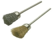Wire Cup Brushes - Brass , Pack of 6