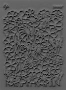 Lisa Pavelka Bloomin' Stamp, Grey