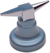 Double Horn Anvil with Round Base, 1-3/4 Pounds