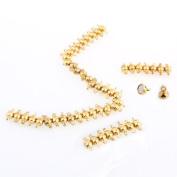 50 X Gold Tone Metal Magnetic Necklace Bracelet Clasp HOT