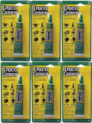 Duco Cement Multi-purpose Adhesive Craft & Home Glue 30ml ~Lot of 6 Tubes