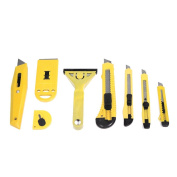 8pc Assorted Blades Utility Cutter Set Home Garage Work Shop Office Knife Tools