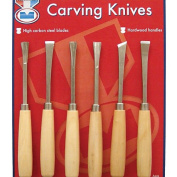 Midwest Products 3802 6-Piece Carving Knives Set