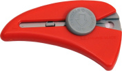 NT Cutter Self-Retracting Mini Safety Knife, Red, 1 Knife