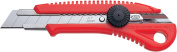 NT Cutter Heavy-Duty ABS Anti-Slip Contoured Grip Screw-Lock Utility Knife