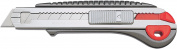 NT Cutter Heavy Duty Aluminium Die-Cast Grip Multi-Blade Cartridge Knife, 1 Knife