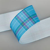 Neotrims Tartan Cheque Petersham Grosgrain Ribbon By the Yard, 3 Widths & Colours. Plaid Cheques Trimming Ruban; A Modern Look on a traditional Cheque theme in this Beautifully Soft Polyester Petersham Ribbon printed with a Tonal Cheque Pattern. 3 Widt ..