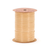 Berwick Wraphia Matte Rayon Craft Ribbon, 100-Yard Spool, Kraft