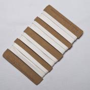 Neotrims 10mm PU Faux Imitation Leather Tape Trimming Ribbon Coach Pram Strap Strip. 3.8 metres, 7.5m & 19mts (1 reel) lengths. 5 Colours Options