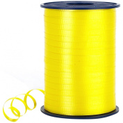Morex Poly Crimped Curling Ribbon, 0.5cm by 500-Yard, Bright Yellow