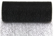Kel-Toy Sparkle Mesh Craft Fabric, 15cm by 10-Yard, Black
