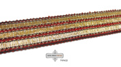 . Sari Border Thread Work Craft Fabric Appreal Indian Lace Ribbon Sewing Trim 1 Yard