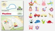 Making Memories Slice Fabrique Design Card, Playtime
