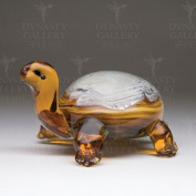 Dynasty Gallery Decorative Glass Small Tortoise
