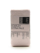R & F Handmade Paints Encaustic Paint scarlet extra pale 40 ml [PACK OF 2 ]