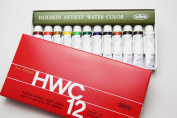 Holbein Artists' Watercolour 5ml 12 Colour Set