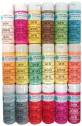 Martha Stewart PROMO767E Acrylic Paint, 60ml, Best Selling Colours III