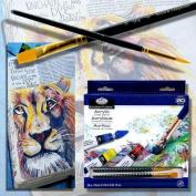 Essentials Acrylic Paint 12ml 18/Pkg-Assorted Colours
