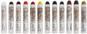 Jack Richeson Shiva Oil Paintstik, Professional Colours, Set of 12