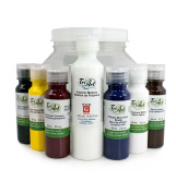 Tri-Art Professional-FQ Liquid Acrylic Basic Paint Set, 6 by 60ml