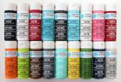 Martha Stewart PROMO767C Acrylic Paint, 60ml, Best Selling Colours I