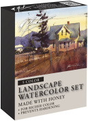 M. Graham Tube Watercolour Paint Landscape 5-Colour Set, 30ml