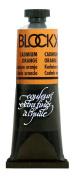 Blockx Cadmium Orange Cadmium Yellow Orange Oil Paint, 35ml Tube