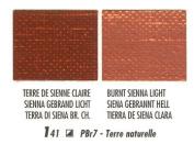 Blockx Burnt Sienna Light Oil Paint, 200ml Tube