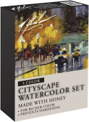 M. Graham Tube Watercolour Paint Cityscape 5-Colour Set, 30ml