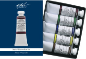 M. Graham 15ml Tube Watercolour Paint Basic 5-Colour Set