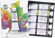 M. Graham Tube Watercolour Paint Jewel Tone 5-Colour Set, 30ml