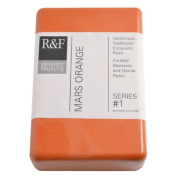 R & F Encaustic 333ml Paint, Mars Orange