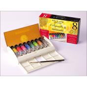 Sennelier Watercolour Travel Box 8 Tube Set