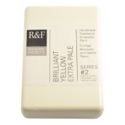 R & F Encaustic 333ml Paint, Brilliant Yellow Extra Pale