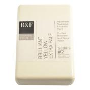 R & F Encaustic 333ml Paint, Brilliant Yellow Extra Pale
