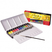 Sennelier Watercolour Metal Box 12 Tube Set