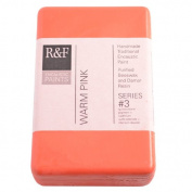 R & F Encaustic 333ml Paint, Warm Pink