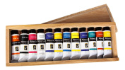 Jack Richeson 37-Ml Artist Casein Colours, Set of 12