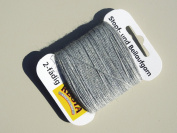 Regia Darning Thread 5 Gramme Card - Light Grey