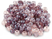 Beaders Paradise LT6EMIX32 Czech Glass Lilac Lustre Mix 6/0 E-Beads in a Tube