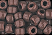 BROWN CROW BEADS PONY BEADS
